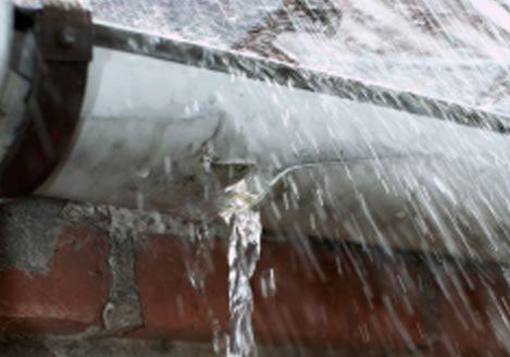 Salt Lake City rain gutter repair